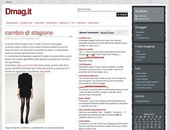 Main page screenshot of dmag.it