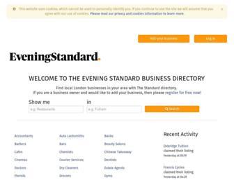 local.standard.co.uk screenshot