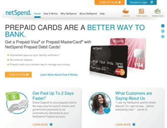 Thumbshot of Netspend.com