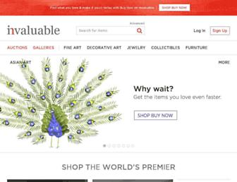 Thumbshot of Invaluable.com