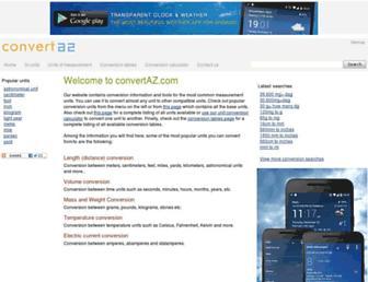 convertaz.com screenshot
