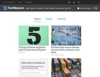 techbeacon.com screenshot