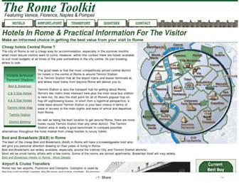 Thumbshot of Rometoolkit.com