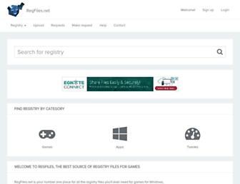 regfiles.net screenshot