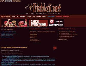 diabloii.net screenshot