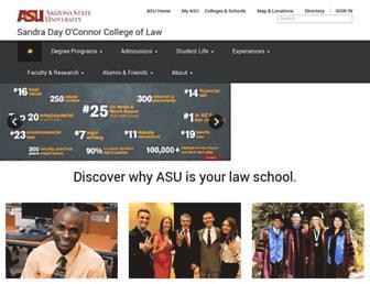 apps.law.asu.edu screenshot