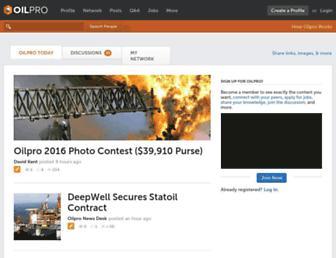 Thumbshot of Oilpro.com