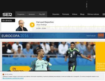 cadenaser.com screenshot