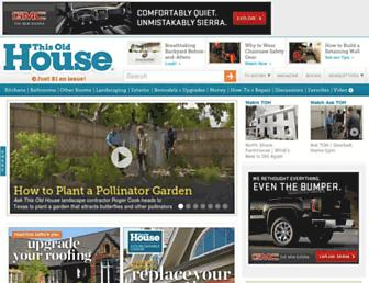 thisoldhouse.com screenshot