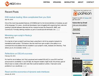 nczonline.net screenshot