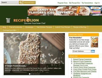 Thumbshot of Recipelion.com
