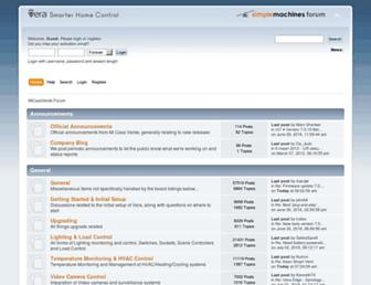 forum.micasaverde.com screenshot