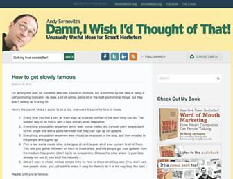damniwish.com screenshot