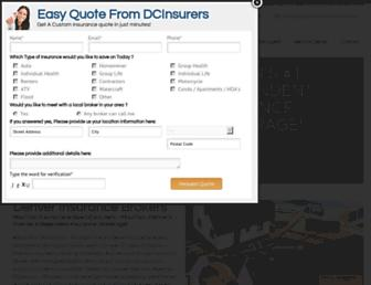 mountaininsurance.com screenshot