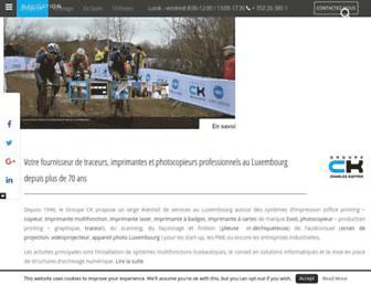 ck-online.lu screenshot