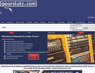 gearslutz.com screenshot