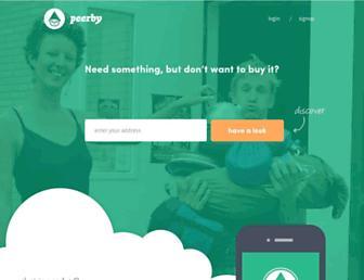 Thumbshot of Peerby.com