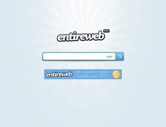 entireweb.com screenshot