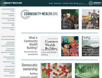 community-wealth.org screenshot