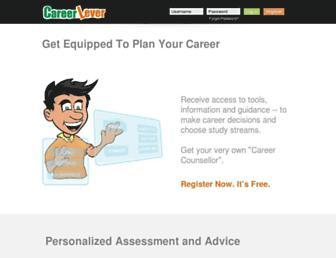 careerlever.com screenshot