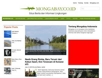 mongabay.co.id screenshot