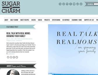 Thumbshot of Sugarandcharm.com