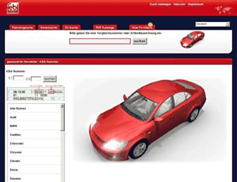 febi-parts.com screenshot