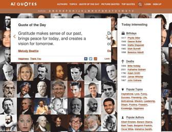 azquotes.com screenshot