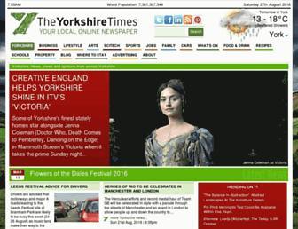 yorkshiretimes.co.uk screenshot