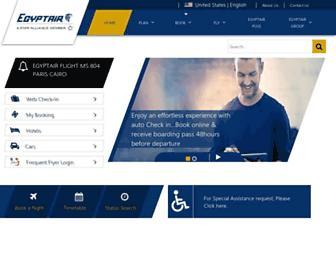 Thumbshot of Egyptair.com