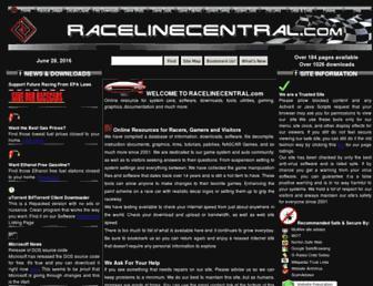 racelinecentral.com screenshot