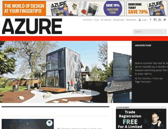 azuremagazine.com screenshot