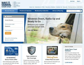 Thumbshot of Navyfcu.org