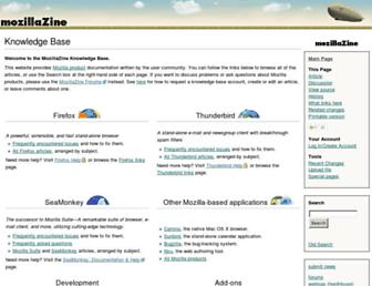 kb.mozillazine.org screenshot