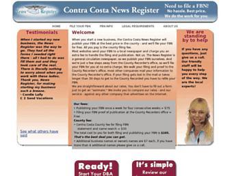 ccnewsregister.com screenshot