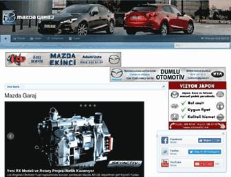mazdagaraj.com screenshot