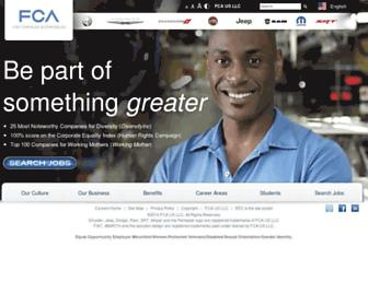 Thumbshot of Chryslercareers.com