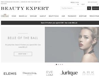 beautyexpert.com screenshot