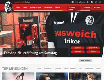 Thumbshot of Scfreiburg.com