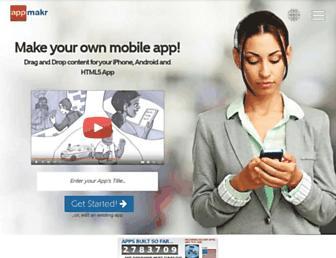 Thumbshot of Appmakr.com