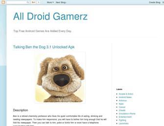alldroidgamerz.blogspot.com screenshot