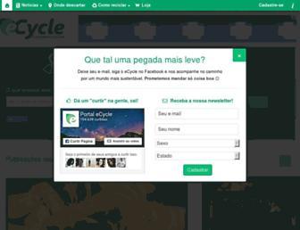 ecycle.com.br screenshot