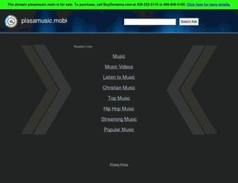 plasamusic.mobi screenshot