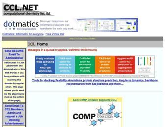 ccl.net screenshot