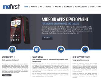 Thumbshot of Mofirst.co.uk