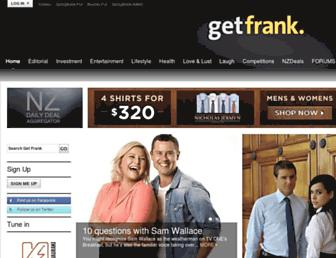 Thumbshot of Getfrank.co.nz