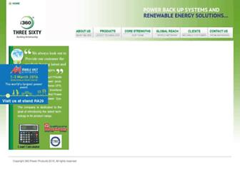 threesixtypower.com screenshot
