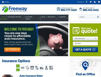freewayinsurance.com screenshot