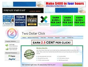Thumbshot of Twodollarclick.com