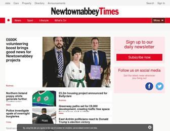 newtownabbeytoday.co.uk screenshot